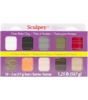 Sculpey III Multi Packs