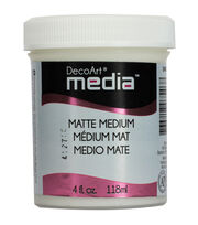 DecoArt Media Medium 4oz-Matte , , hi-res