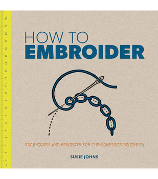 Susie Johns How To Embroider Book