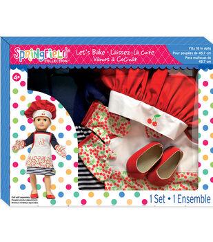 Springfield Boutique Dress, Hat & Apron Let's Bake Gift Set