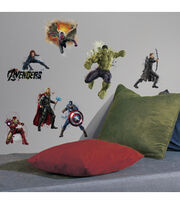 Avengers 2 Age of Ultron Peel & Stick Wall Decals 14 Pack, , hi-res