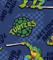 Nickelodeon Teenage Mutant Ninja Turtles Kickin It Turtle Style Fleece , , hi-res