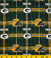 Green Bay Packers NFL Flannel Fabric by Fabric Traditions, , hi-res