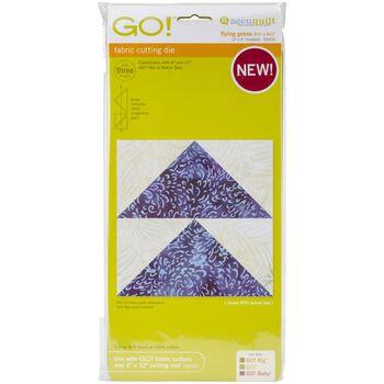 """GO! Fabric Cutting Dies- Flying Geese 3""""X6"""""""