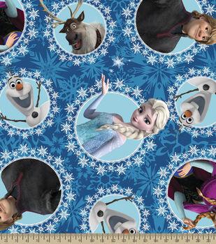 Disney Frozen Character Fleece Fabric