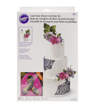 Wilton® Gum Paste Flower Cutter Set 28pcs