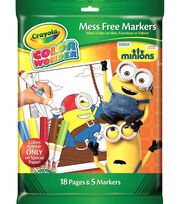 Crayola Color Wonder Coloring Kit-Minions, , hi-res
