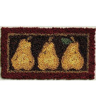 Rachel's of Greenfield Punch Needle Kit Pears