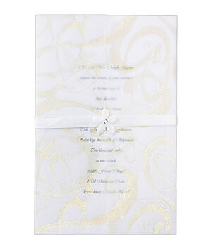 Wilton® 25ct Invitation Kit-Glitz & Glamour