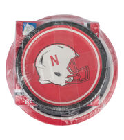 University of Nebraska NCAA Plate & Napkin Set, , hi-res