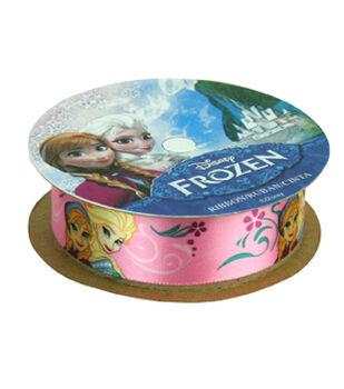 """Frozen Ribbon 7/8""""x9'-Anna&Elsa"""
