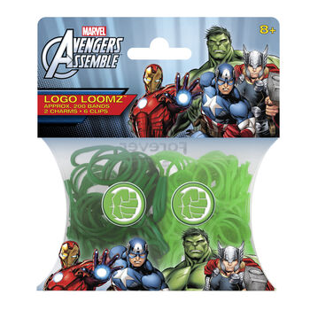 Marvel Comics Hulk Logo Loomz Filler Pac
