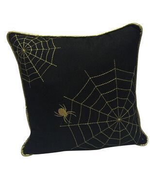 Maker's Halloween Pillow-Spider Web