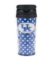 University of Kentucky NCAA Polka Dot Travel Mug, , hi-res
