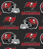 Tampa Bay Buccaneers NFL Fleece Fabric by Fabric Traditions, , hi-res