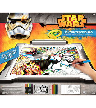 Crayola Light Up Tracing Pad-Star Wars