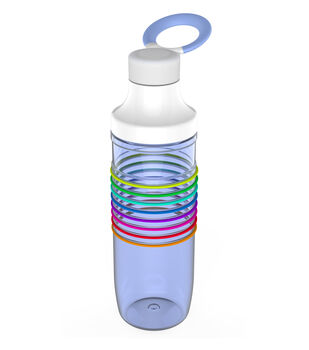 HydraTrak Chug 24oz Water Intake Calculator Bottle-Periwinkle