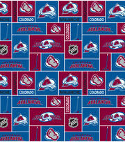 Colorado Avalanche NHL  Cotton Fabric, , hi-res