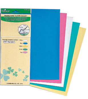 """Clover® Chacopy Tracing Paper 12""""x10"""" 5/pkg"""