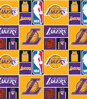 Los Angeles Lakers NBA  Cotton Fabric, , hi-res