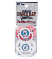 University of Kansas NCAA Pacifiers, , hi-res