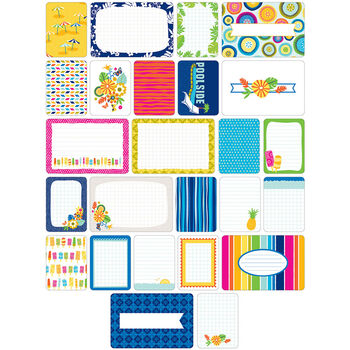 Project Life Themed Cards 60/Pkg-Tropical