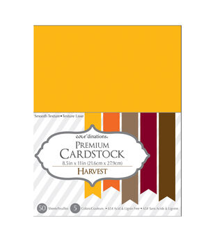 Core'dinations Cardstock Harvest