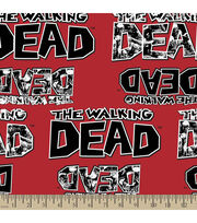 The Walking Dead Zombies Cotton Fabric, , hi-res