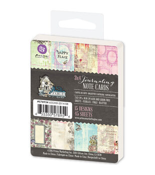 Prima Marketing Garden Fable 3''x4'' Journaling Notecards