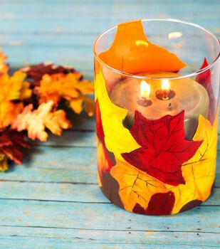 Leaves of Fall Vase