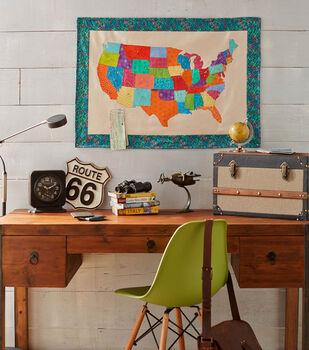 Fabric USA Map