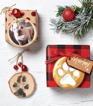 Wood and Clay Pet Ornaments