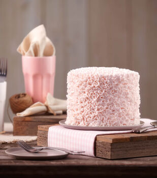 Abundant Ruffles Cake