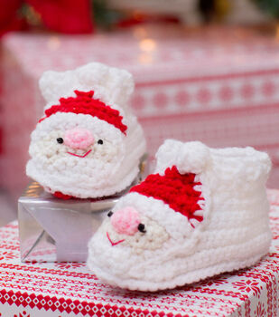 Child's Santa Slippers