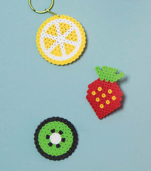 How To Make A Fruit Shape Perler ID Labels