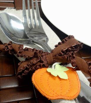Pumpkin Charm Napkin Ring