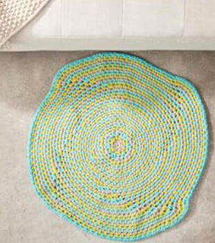 How To Make A Crochet Color Play Rug