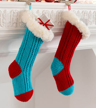 How To Make Fur Top Holiday Stockings