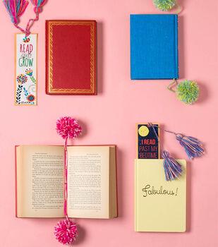 How To Make Pom Pom and Tassel Bookmarks