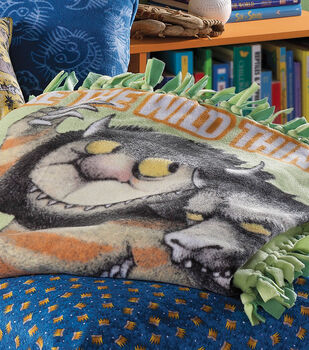 Where the Wild Things are No-Sew Blanket