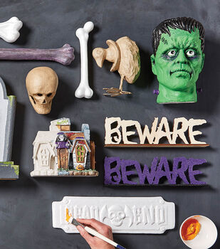 Fab Lab Halloween Decorations