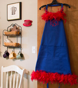 Frilly No-Sew Apron
