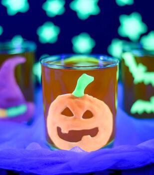 How To Make Pumpkin Glow Clings