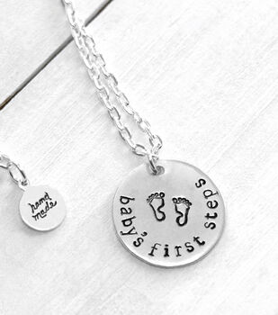 How To Make A Baby Necklace