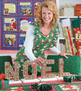 Fabric-Covered Noel Letters