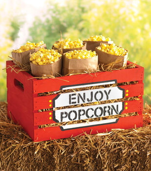 Popcorn Crate
