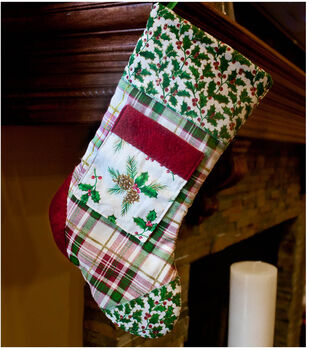 How To Make A Osnaburg Holiday Stocking