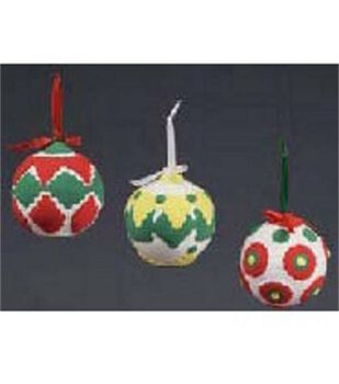 Children's Molded Christmas Balls