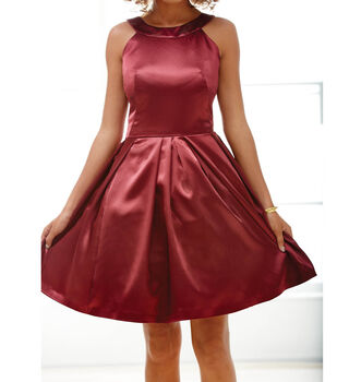 Burgundy Special Occasion Dress