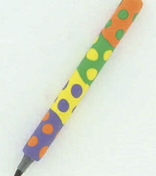 Polka Dot Clay Pen